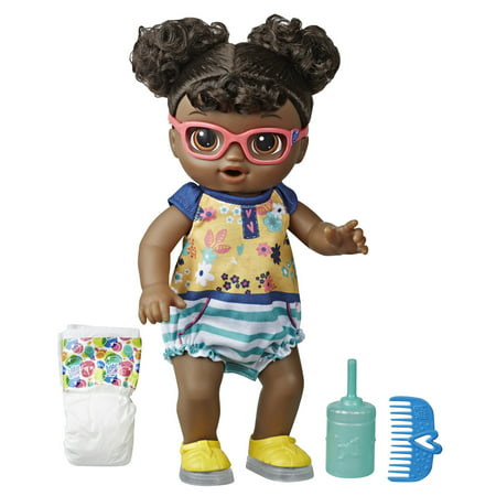 Baby Alive Step'n Giggle Baby (Black Hair) for Ages 3 and Up