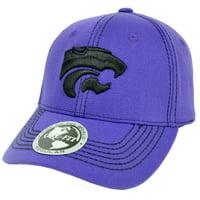 NCAA Kansas State Wildcats Top of The World Hat Cap Flex Fit Endurance Construct