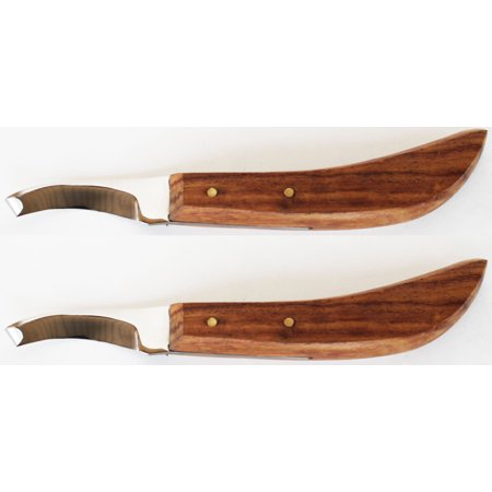 Lot of 2 Steel Blade Horse Shoe Care Grooming Right Handed Hoof Knife