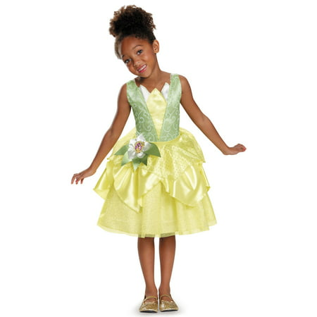 Disney's The Princess and the Frog Tiana Classic Costume for Kids - Princess Anna Adult Costume