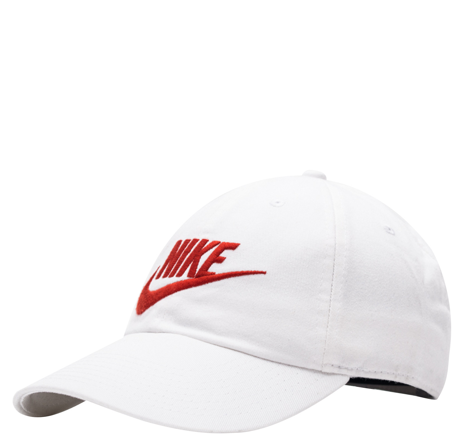 f7717ac5cad ... promo code for nike mens nike futura washed h86 adjustable hat white  university red 626305 100