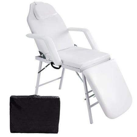 Costway 73'' Portable Tattoo Parlor Spa Salon Facial Bed Beauty Massage Table (Best Asian Massage Parlor)