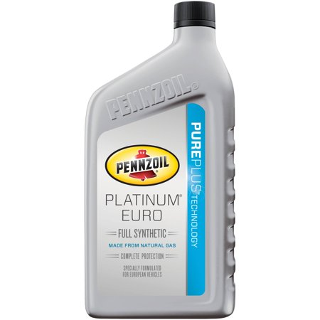 Pennzoil Platinum Euro Sae 5w 40 Full Synthetic Motor Oil