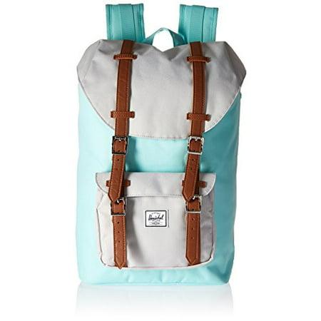 cdfb19dd2aa Herschel - 10020-01461 Little America Backpack Mid-Volume Unisex Blue  Tint Glacier Grey - Walmart.com