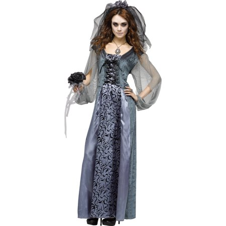 Monster Bride Women's Adult Halloween Costume](Monster Bride Halloween Makeup)
