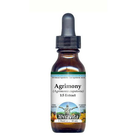 Agrimony (Xian He Cao) - Glycerite Liquid Extract (1:5) - No Flavor (1 fl oz, ZIN: