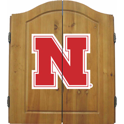 Imperial International NCAA Dart Cabinet, University of Nebraska Cornhuskers