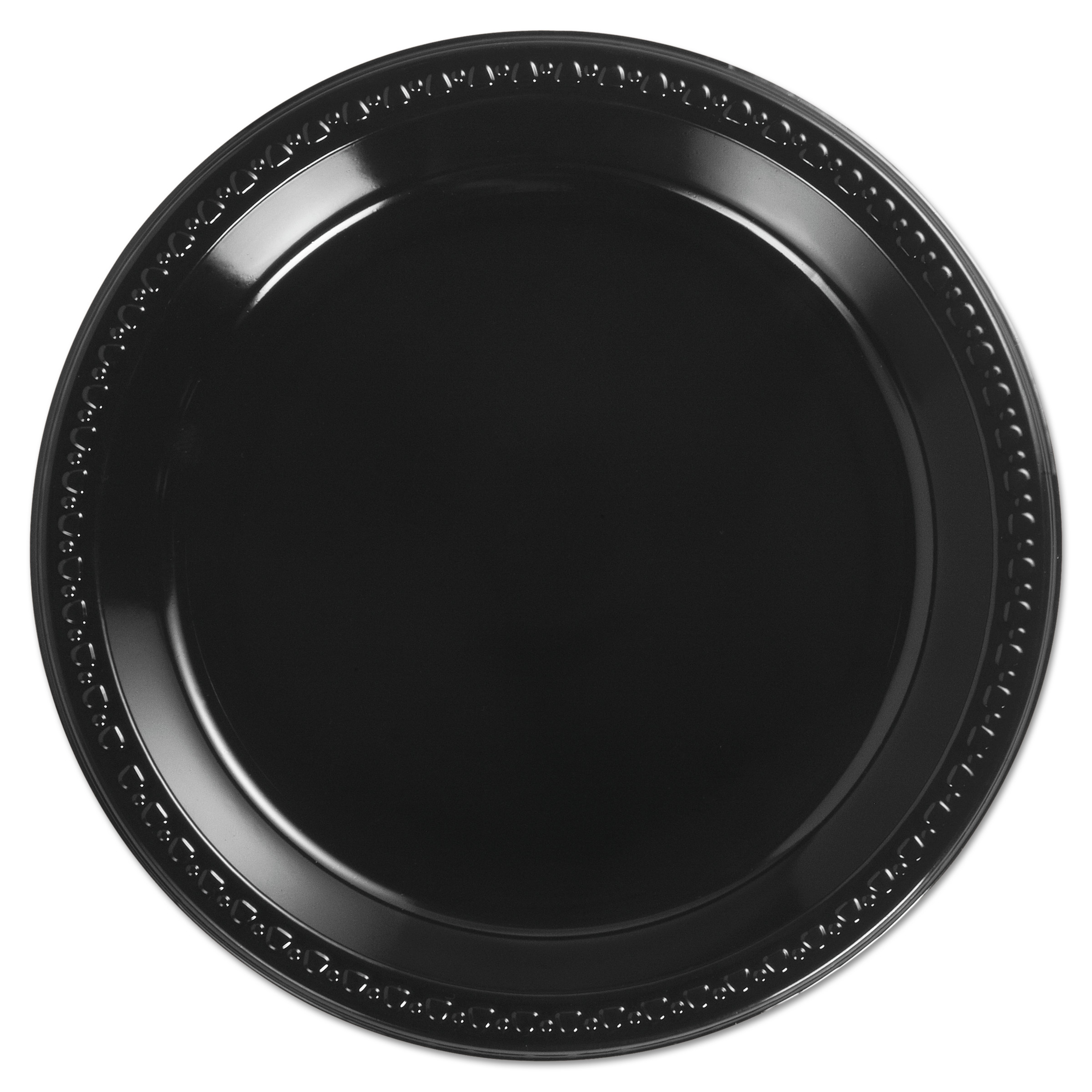 Chinet Heavyweight Plastic Plates 10 1/4 Inches Black Round  sc 1 st  Walmart.com & Chinet Heavyweight Plastic Plates 10 1/4 Inches Black Round ...
