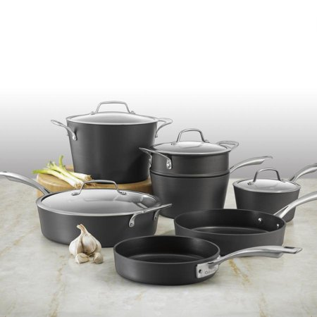 Cuisinart Conical Hard Anodized Induction 11 Piece Set