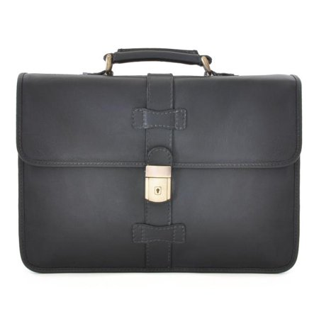 Pratesi Italian Leather Anghiari Cartella Portadocumenti - Leather Briefcase