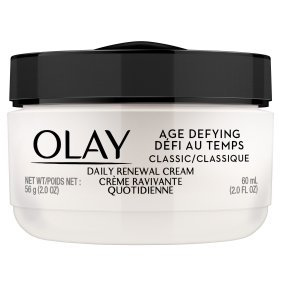 Olay Age Defying Daily Renewal Cream, Face Moisturizer, 2.0 fl oz