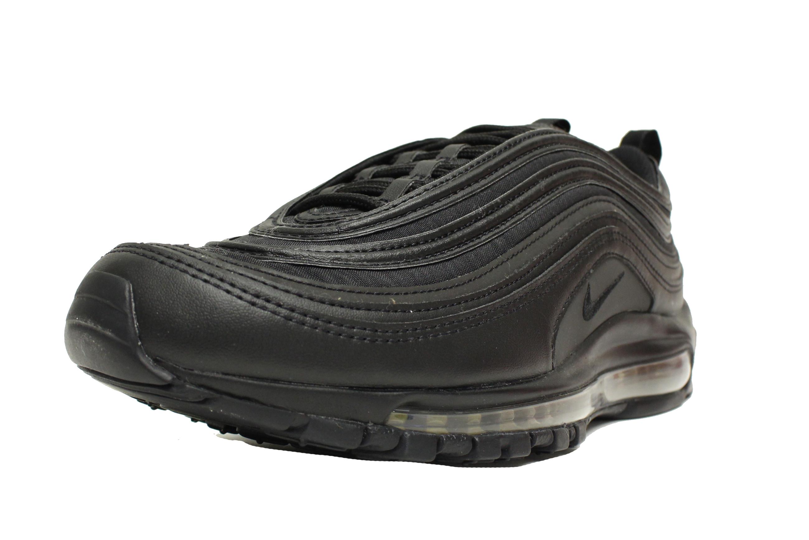 the latest 39b4a 4d066 Nike - NIKE AIR MAX 97 PREMIUM SE SZ 11 TRIPLE BLACK REFLECTIVE GOLD AA3985  001 - Walmart.com
