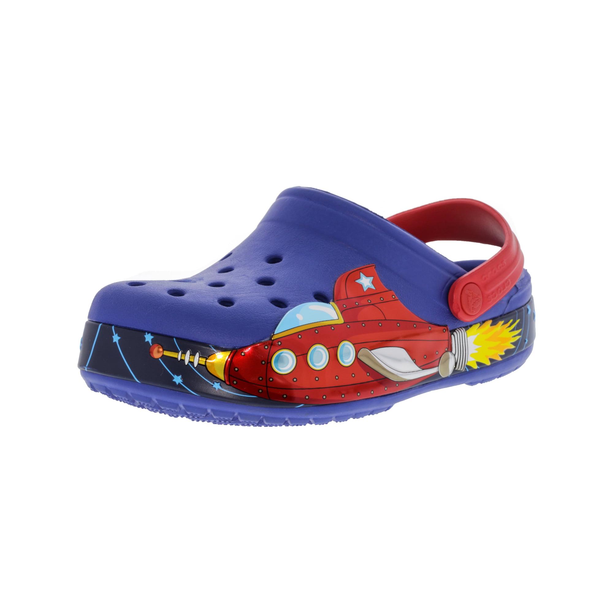 2146c6281 Buy Crocs Crocband Galactic Clog Cerulean Blue Clogs - 12M ...