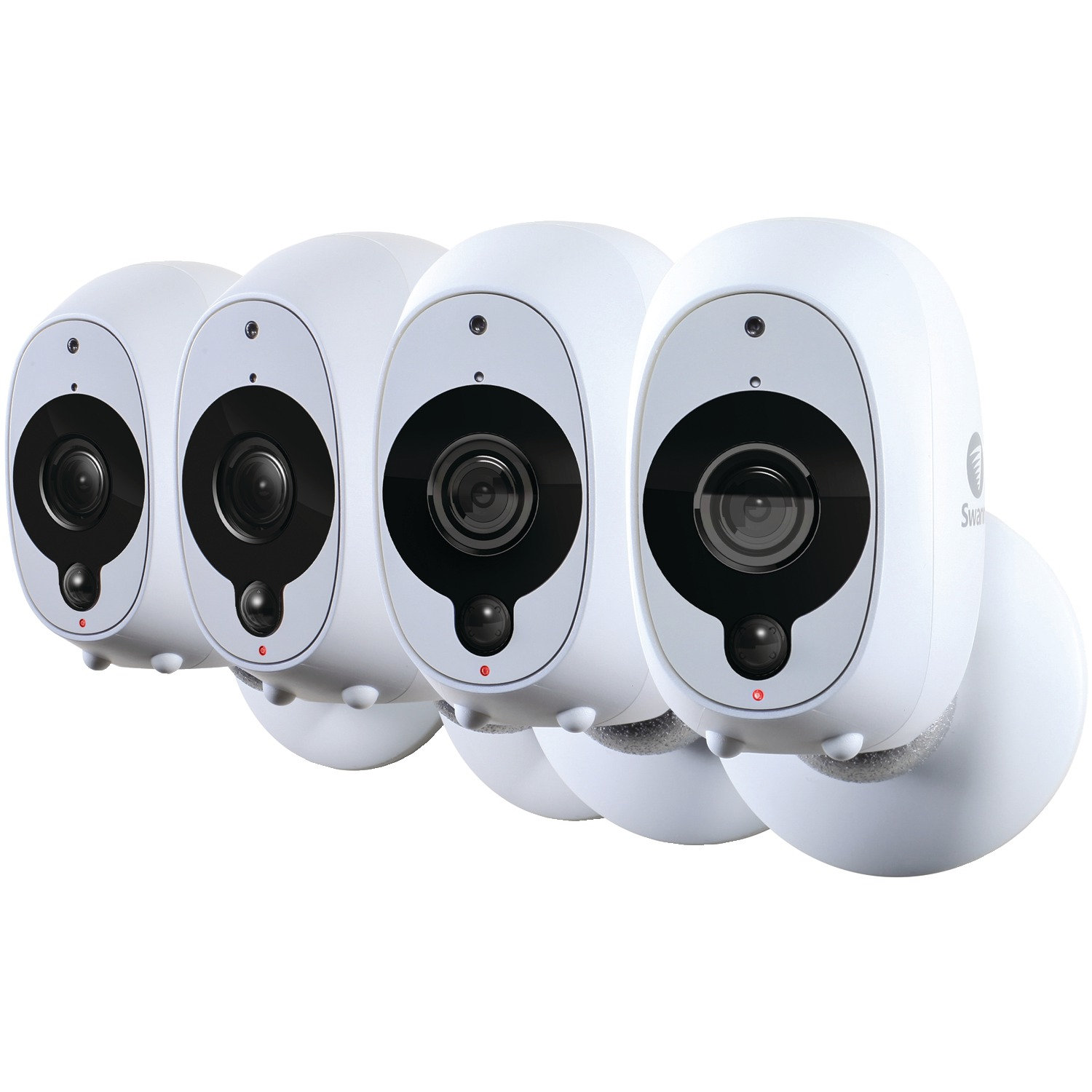 Swann SWWHD-INTCAMPK4-US 1080p Full HD Battery-Powered Wire-Free Camera (4Pk)