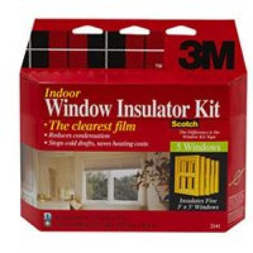 3M 2141 62X210 Window Insulate Kit Indoor Clear Each