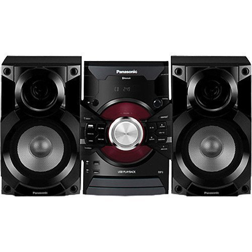 Panasonic 350-Watt Bluetooth Hi-fi Audio Stereo Sound System with Single Disc Cd Player, FM Radio, Dual USB Inputs, Remote Control