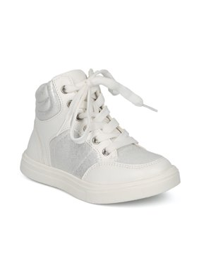0c32ed93da1b Product Image New Girls Little Wild Diva Andy-13 Glitter Panel High Top  Sneaker