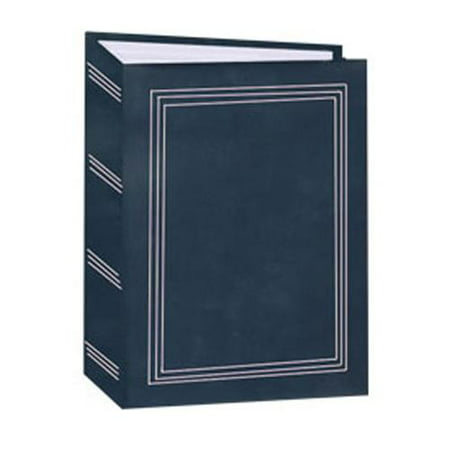 Mini Max Bound Photo Album, Solid Color Designer Covers with Accents, Holds 100 4x6