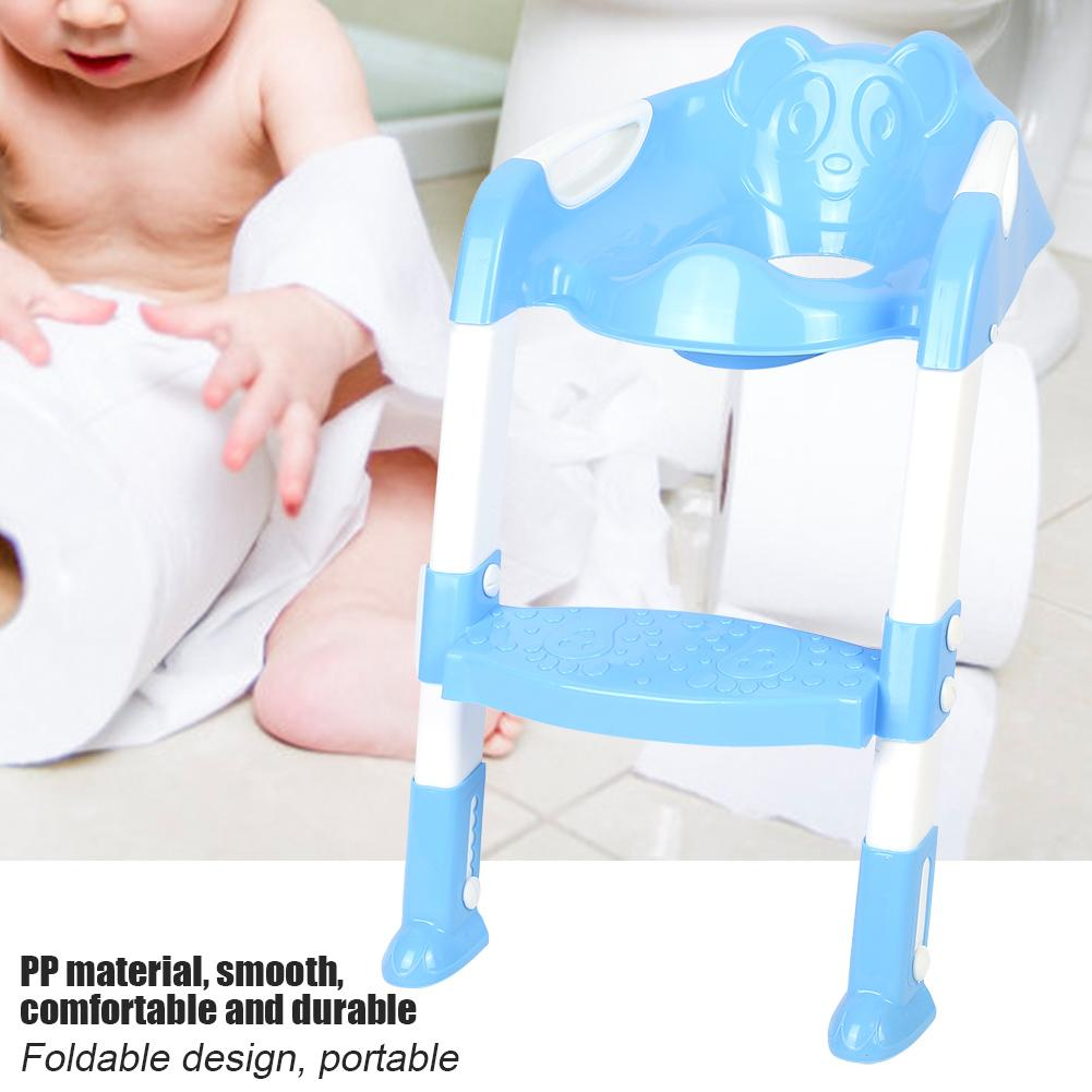 Anauto Portable Baby Toddler Toilet Chair Ladder Foldable Adjustable Kids Safety Potty Training Seat, Toilet... by Anauto