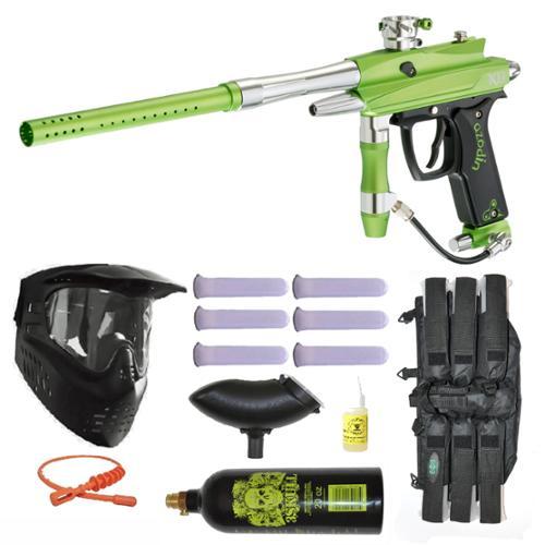 Azodin Kaos-D II Paintball Marker Gun 3Skull Mega Set by