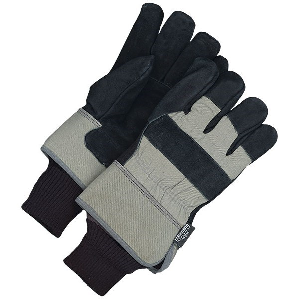 Image of Bob Dale 30-9-1031-XL Fitter Glove Split Cowhide Lined Pullout Polar Fleece Liner, Size XL