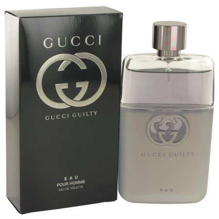 Gucci Guilty Eau by Gucci Eau De Toilette Spray 3 oz for Men