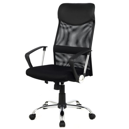 Costway Modern Ergonomic Mesh High Back Executive Computer Desk Task Office Chair Black