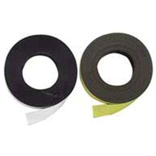 """Baumgartens Magnetic Labeling Tape 1"""" Width X 50 Ft Length Reusable, Repositionable, Writable Surface... by BAUMGARTENS"""