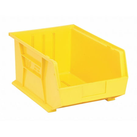 Quantum Storage Systems Hang and Stack Bin Yellow  Polypropylene  QUS255YL
