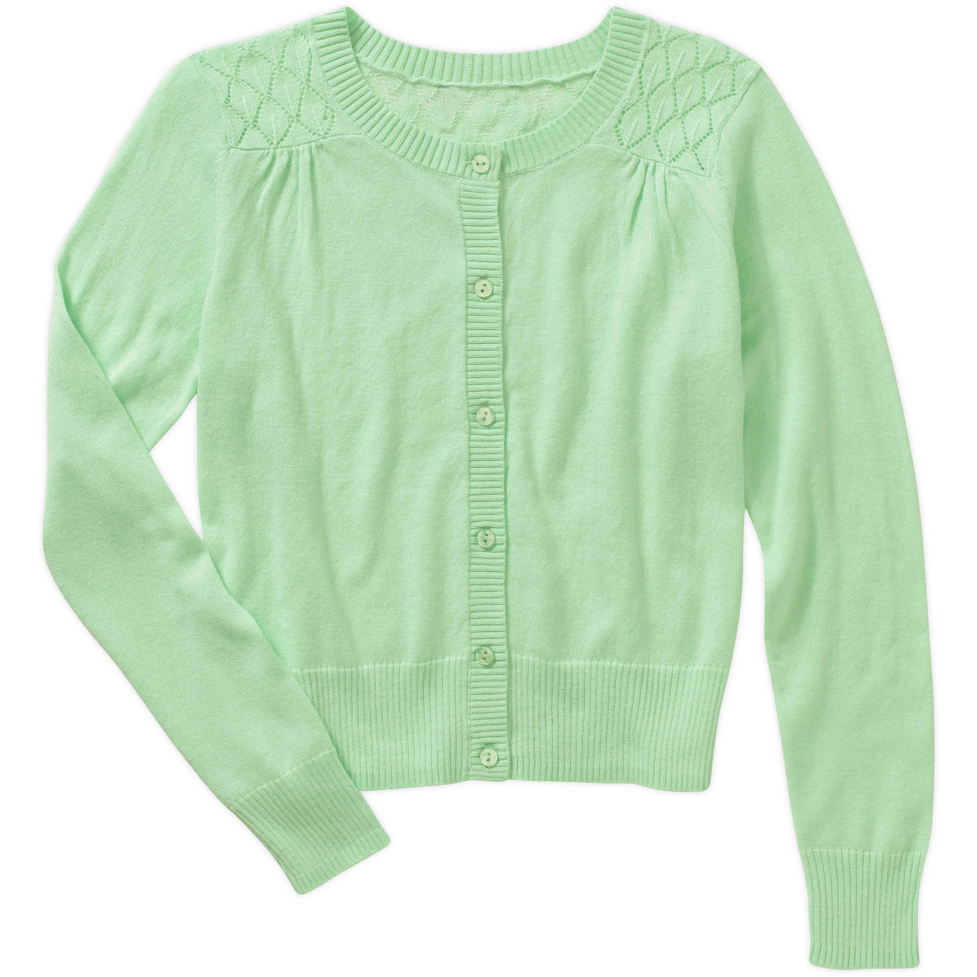 George Girls' Pointelle Cardigan