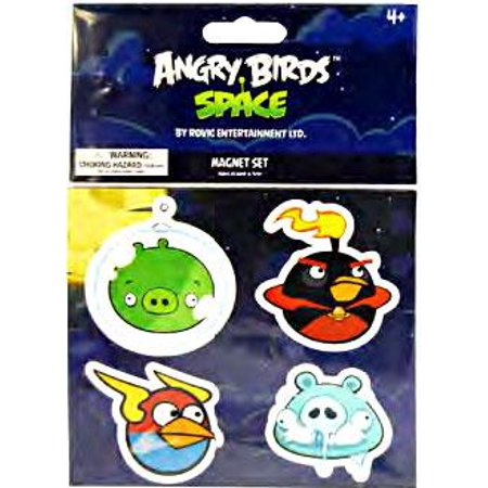Angry Birds Space - Magnet Set - PIG, FIREBOMB, LIGHTNING & FROZEN GRANDPA PIG](Angry Grandpa Show Halloween)