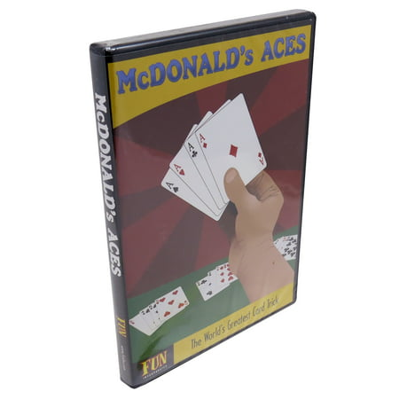 McDonald's Aces Instructional DVD with Cards From Royal Magic - The Effect Is Classic Trick