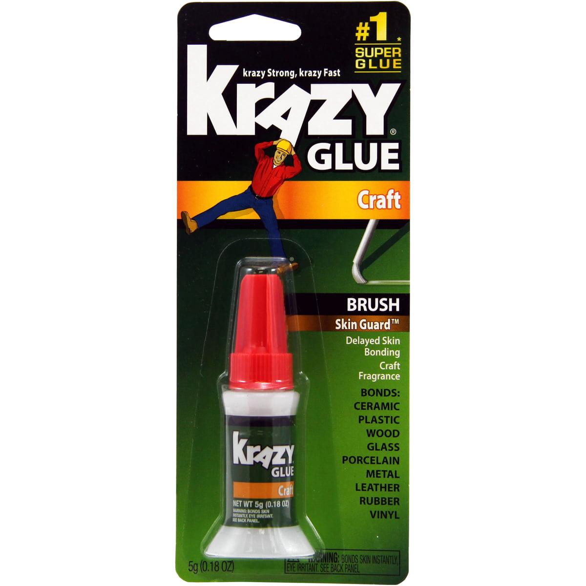 Krazy Glue Brush-On Craft Formula