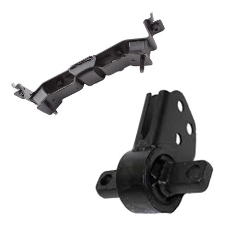 CF Advance For 05-10 Jeep Commander Grand Cherokee 3.7L Engine Motor and Automatic Transmission Mount Set of 2PCS 2005 2006 2007 2008 2009 2010 5528