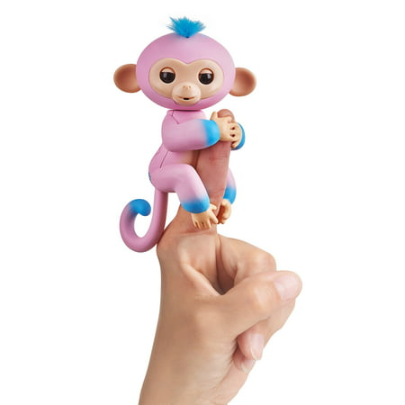 Fingerlings Interactive Monkey 2-Tone - Pink to Turquoise - Candi