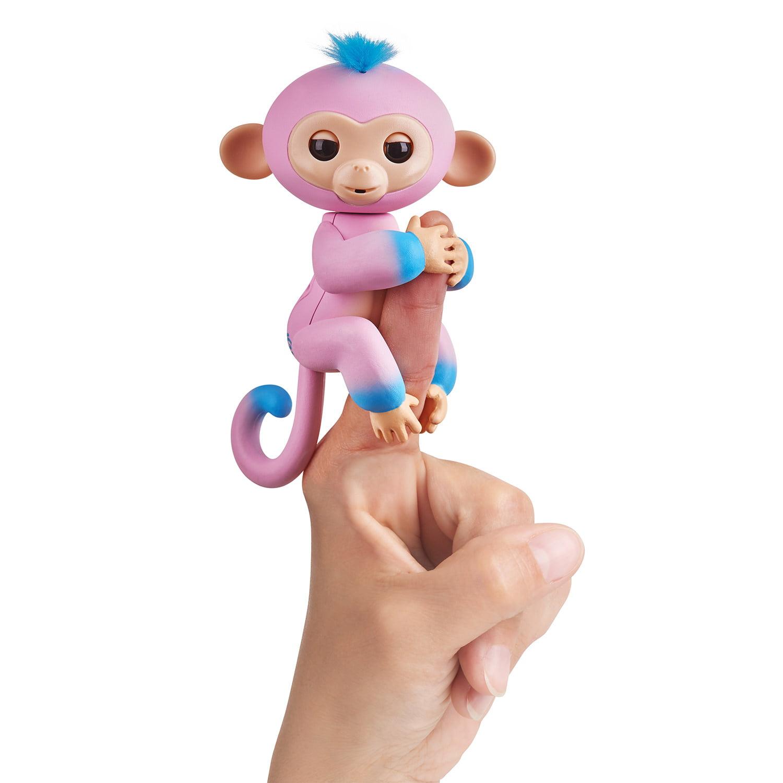 Fingerlings 2Tone Monkey - Candi - Interactive Pet by WowWee