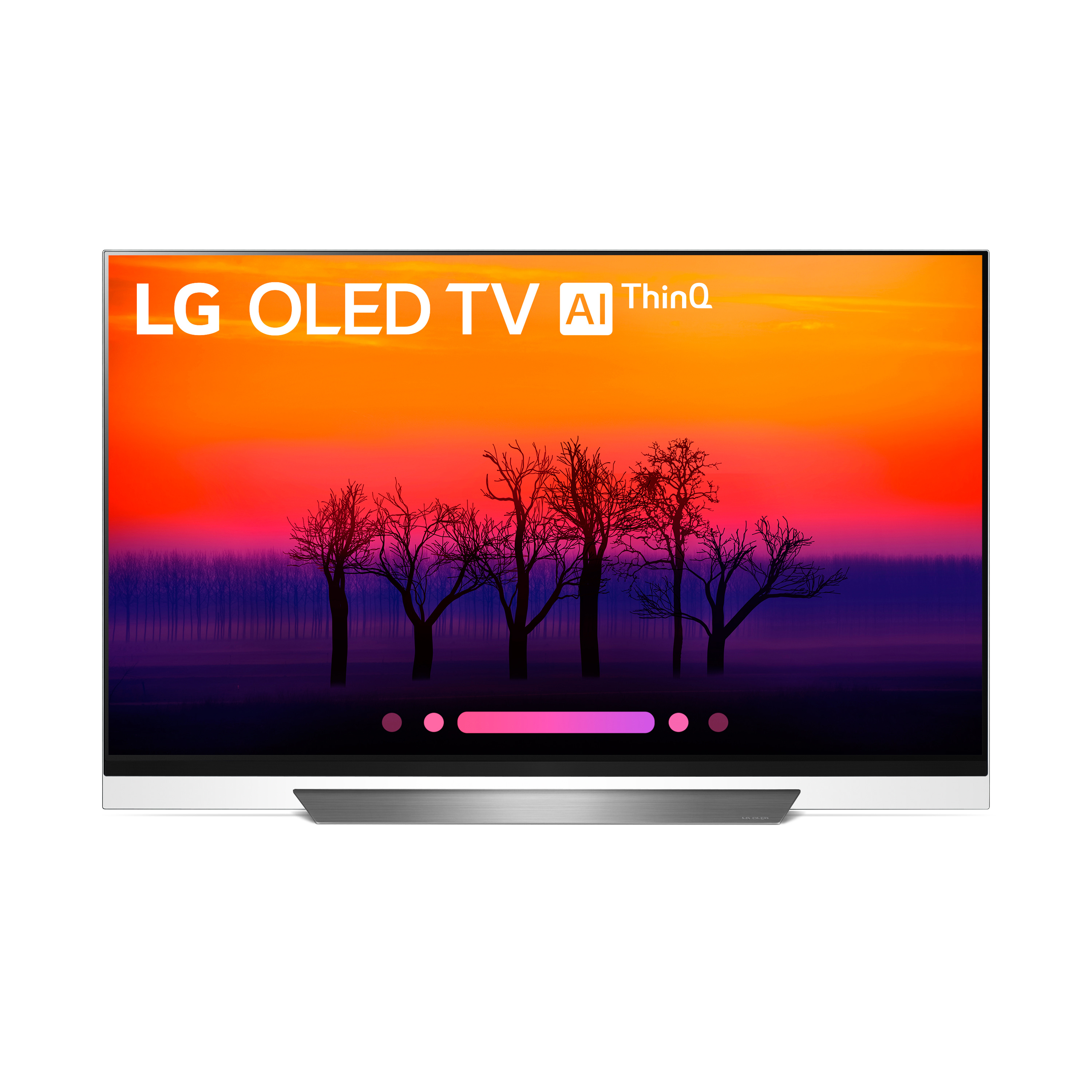 "LG 55"" OLED 4K HDR Smart OLED TV w/AI ThinQ 55OLEDE8PUA"