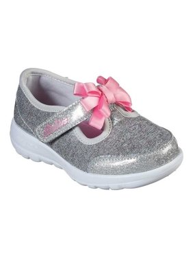 Infant Girls' Skechers GOwalk Joy Bitzy Bitty T Strap