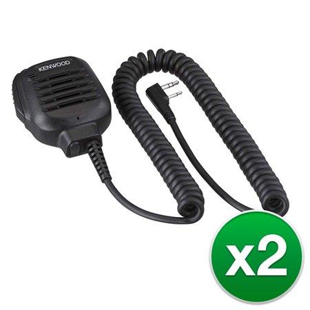 Kenwood KMC45D Speaker mic with builtin 2.5mm earphone jack (2-Pack) Speaker mic with built-in 2.5mm earphone jack