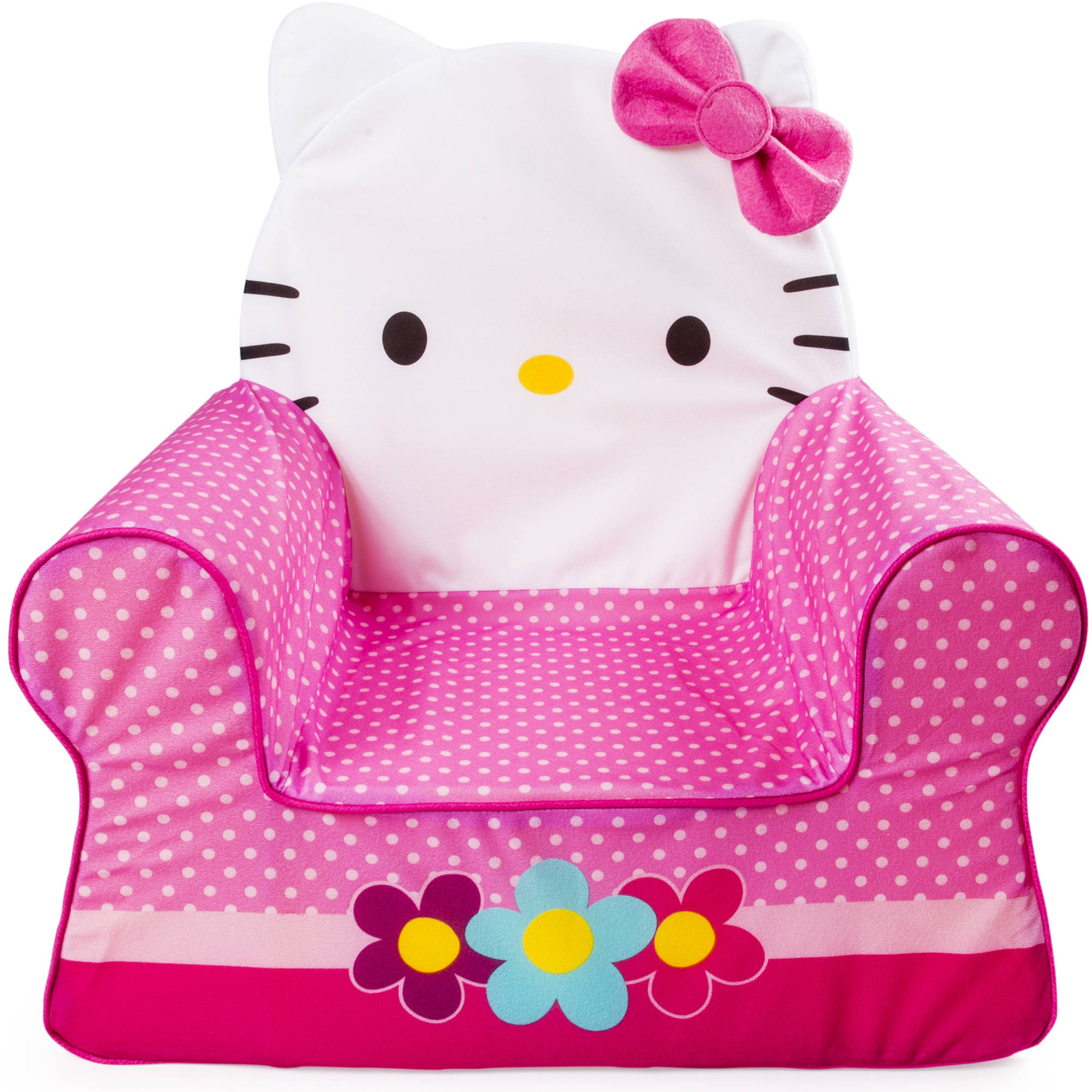 Marshmallow Furniture Comfy Character Chair, Hello Kitty
