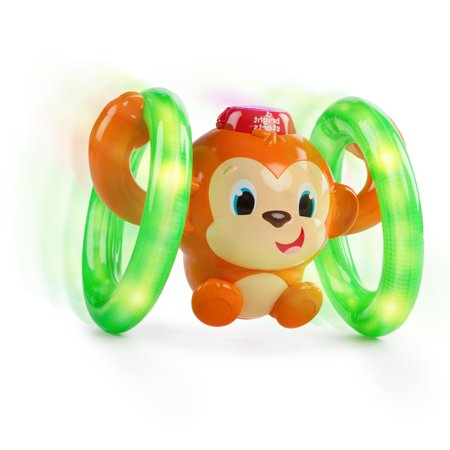 Bright Starts Roll Glow Monkey Toy