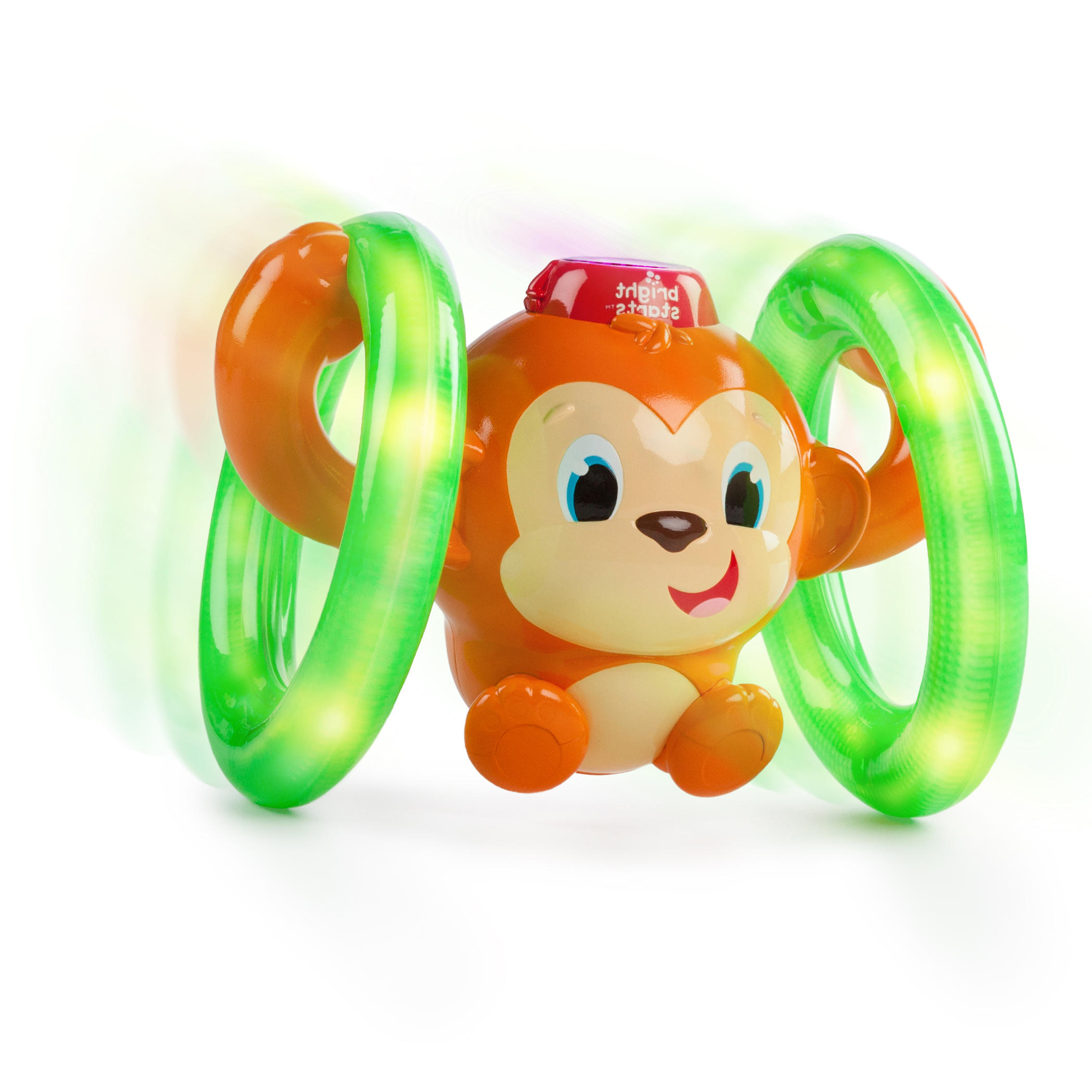 Bright Starts Roll & Glow Monkey Toy