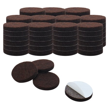 70pcs Felt Furniture Pads Round 3/4