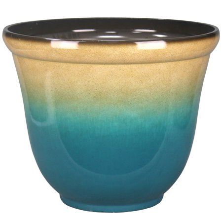 22IN OMBRE PLANTER TEAL