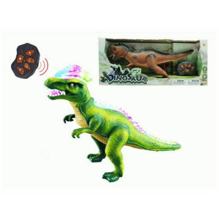 Remote Control RC T Rex Dinosaur Electronic Toy Action Figure Moving & Walking(COLOR MAY VARY)