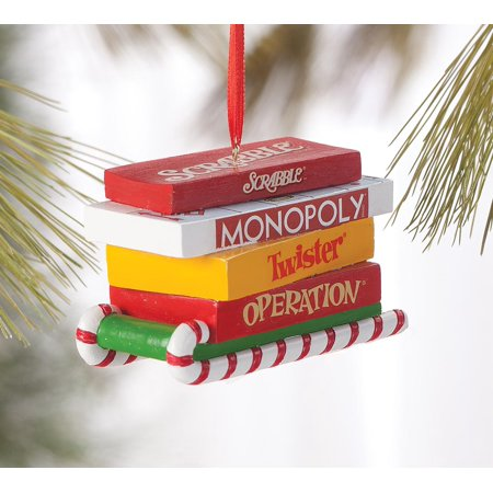 Christmas Operation Game.Exposures Department 56 Board Game Christmas Ornament
