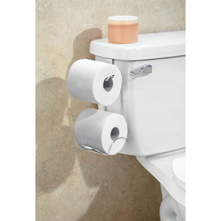 InterDesign Classico Over-The-Tank Tissue Holder, Chrome