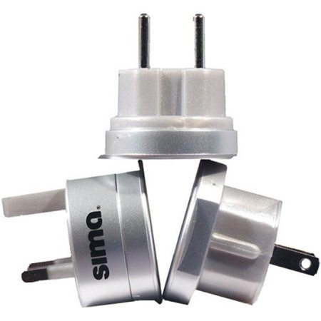 Sima International Plug - Sima International Travel Adapter Plug Set