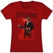 Beatles  Rockin' The Joint Girls Jr Soft tee Red