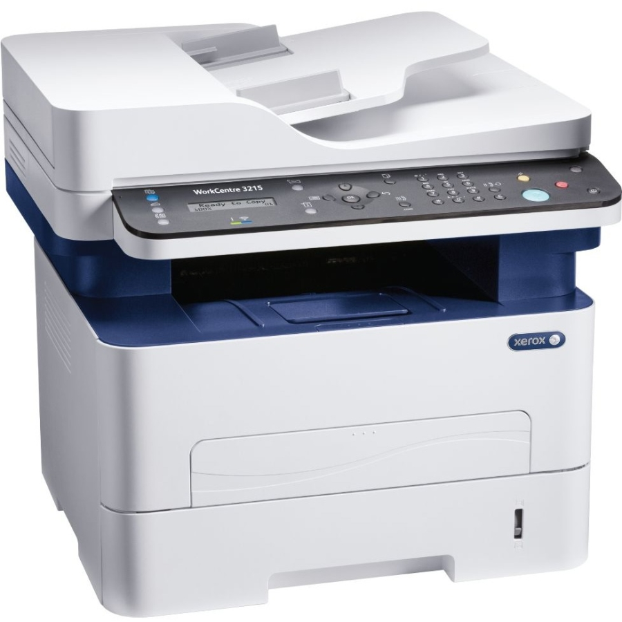 Xerox Workcentre 3215/ni Laser Multifunction Printer - Monochrome - Plain Paper Print - Desktop - Copier/fax/printer/scanner - 27 Ppm Mono Print - 4800 X 600 Dpi Print Lcd - Manual Duplex (3215-ni)